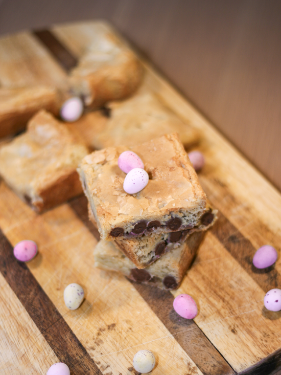 Mini Egg Blondies