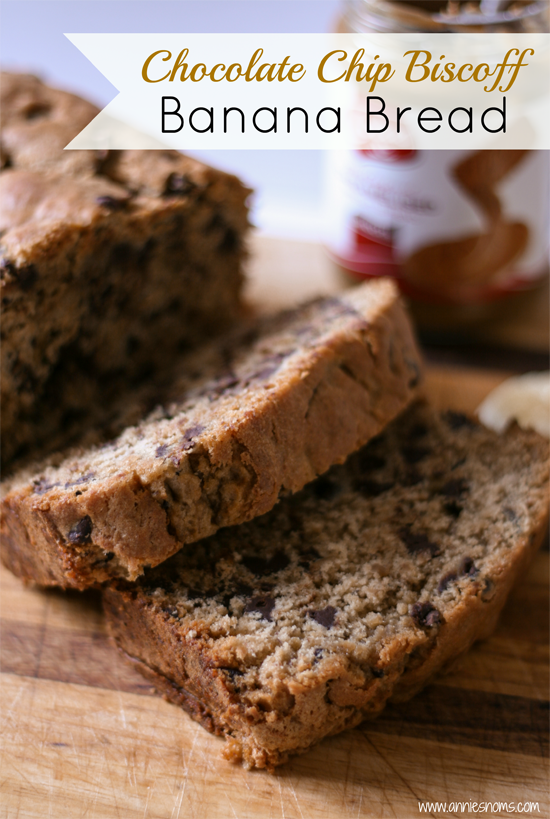 Chocolate Chip Biscoff Banana Bread