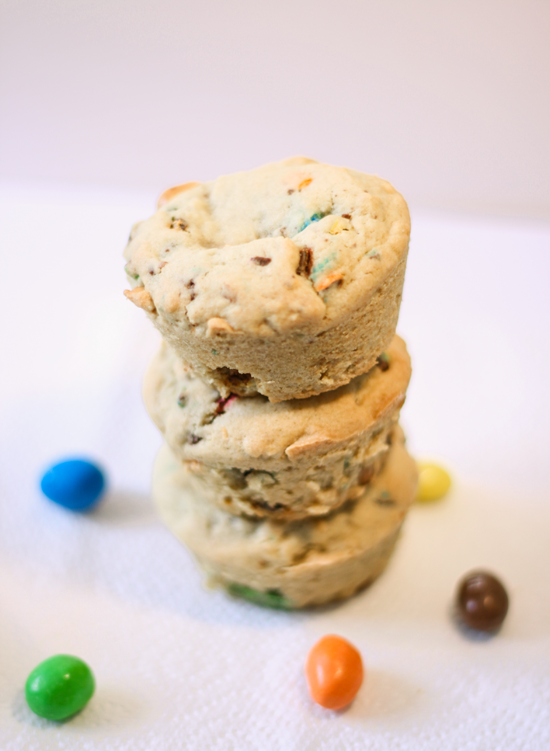 Peanut M&M Cookie Cups
