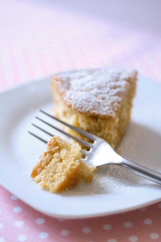 Simple Peach Cake
