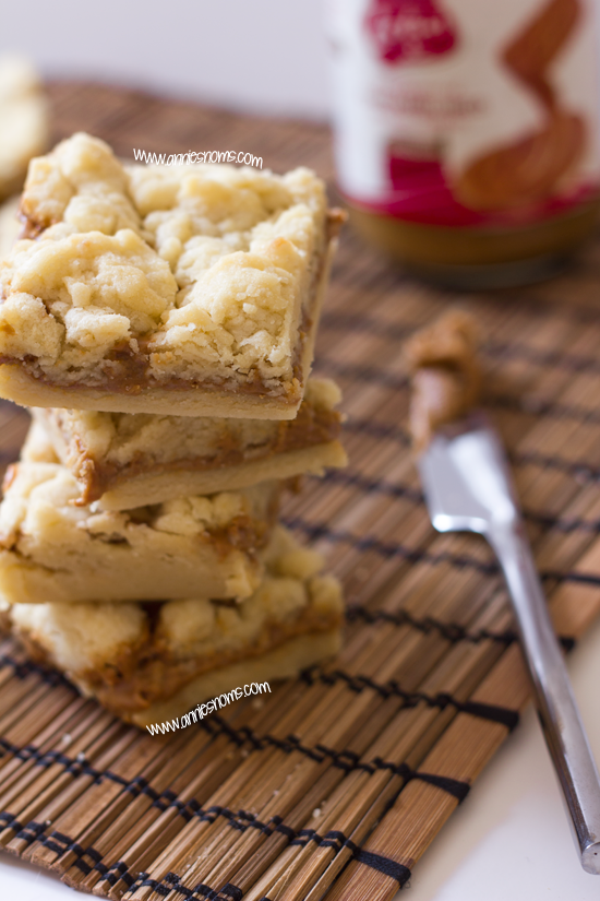 Biscoff Butter Bars