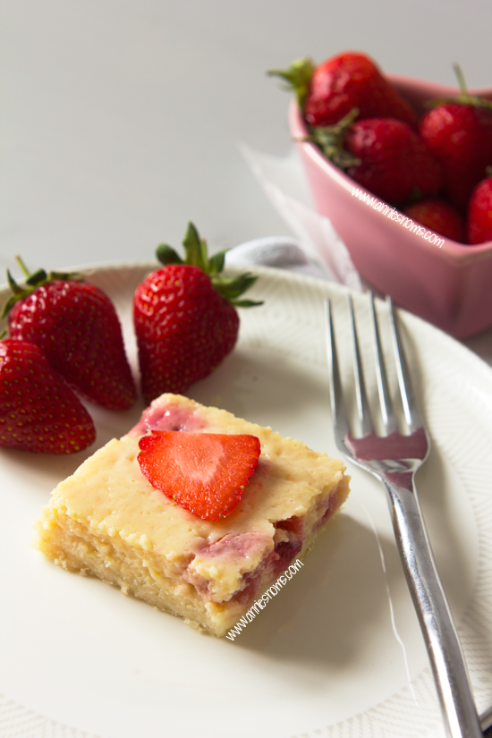 Strawberry and Lemon Bars