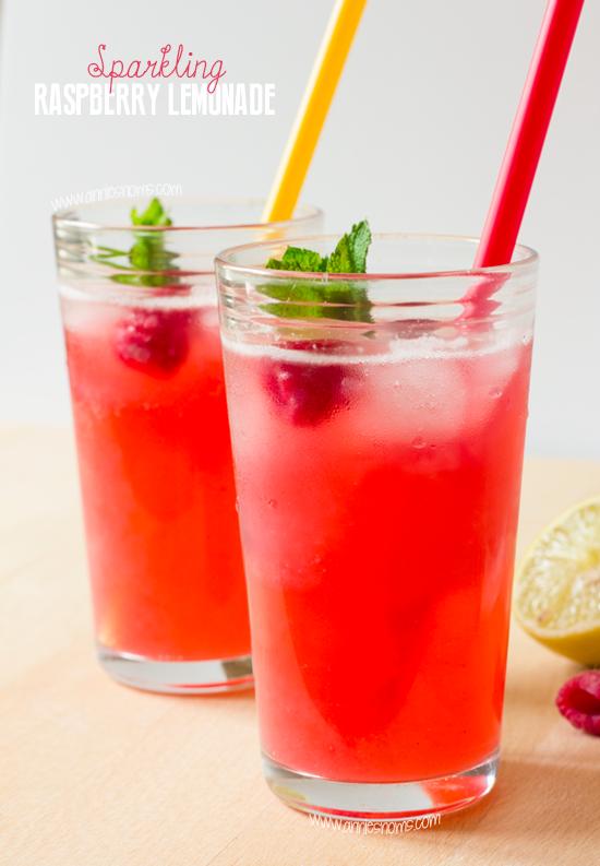 Sparkling Raspberry Lemonade