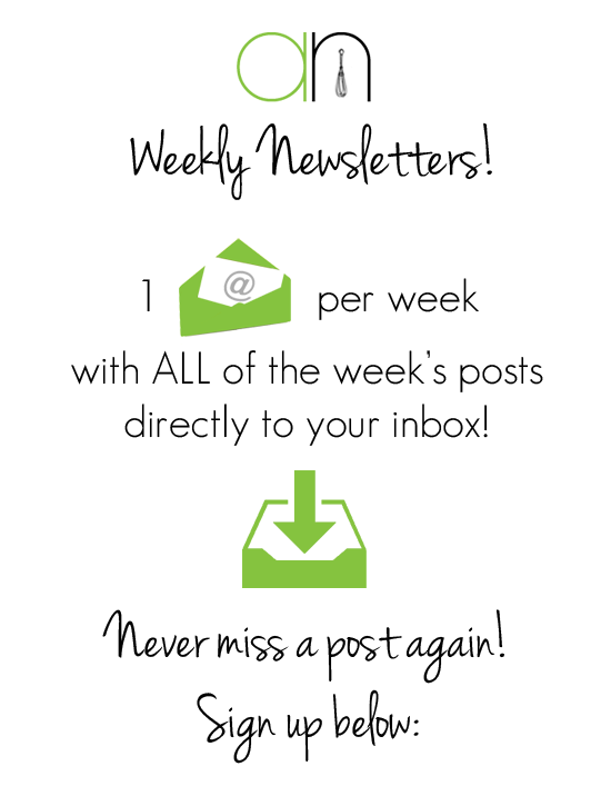 Weekly Newsletters | Annie's Noms