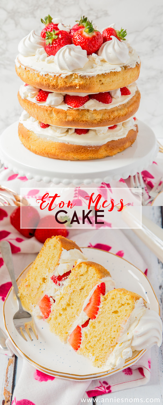 Eton Mess Cake Recipe Uk